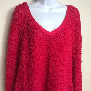 Free people soft  pull over sweater